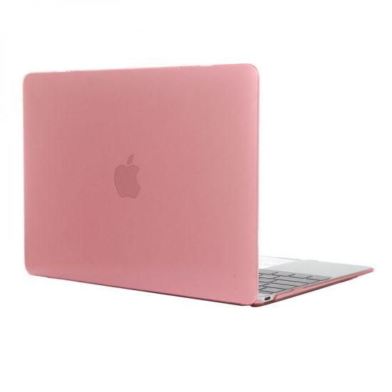 Mobigear Glossy - Housse en Plastique rigide pour MacBook 12 pouces A1534 - Rose