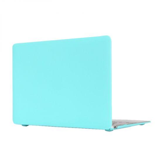 Mobigear Matte - Housse en Plastique rigide pour MacBook 12 pouces A1534 - Turquoise