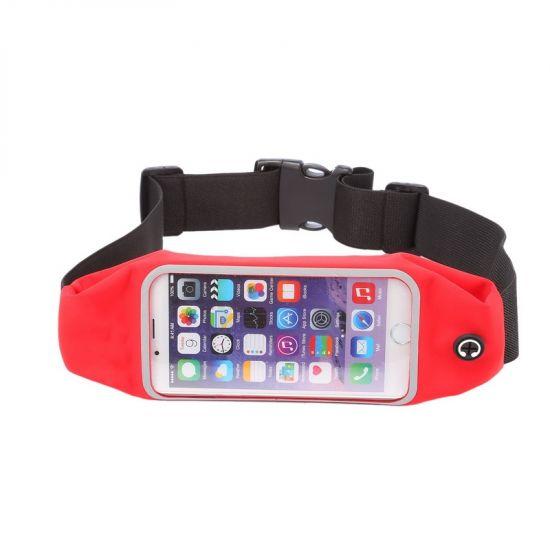 Mobigear - Brassard en Neoprène pour iPhone 6(s) - Rouge