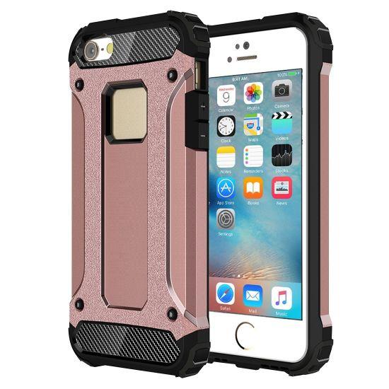 Mobigear Outdoor - Coque arrière en Plastique rigide pour iPhone SE (2016) / 5S / 5 - Rose doré
