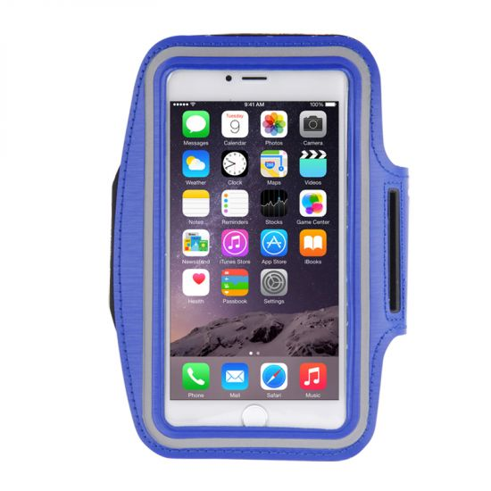 Mobigear - Brassard en Neoprène pour iPhone 8 Plus / 7 Plus / 6(s) Plus - Dark Blue
