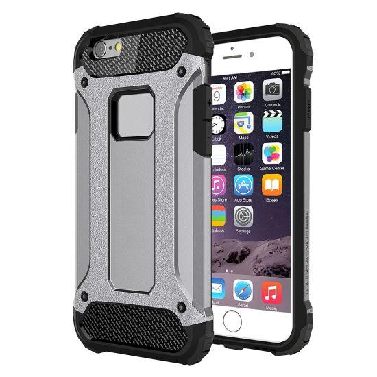 Mobigear Outdoor - Coque arrière en Plastique rigide pour iPhone 6(s) Plus - Gris