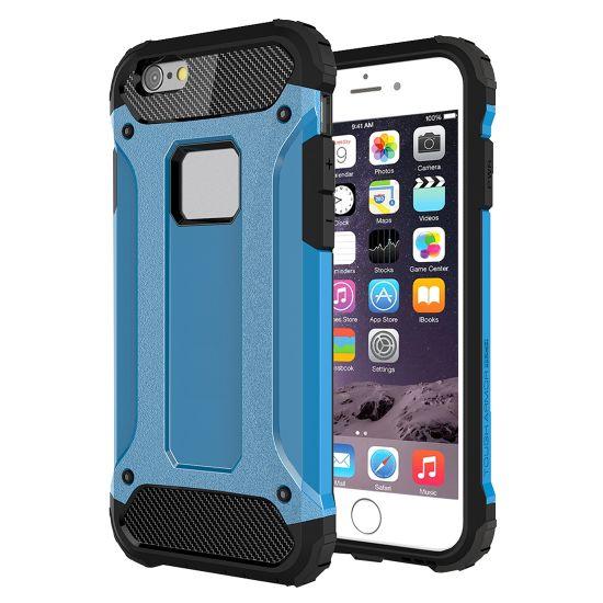 Mobigear Outdoor - Coque arrière en Plastique rigide pour iPhone 6(s) Plus - Bleu