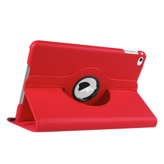 Mobigear 360 Rotating - Etui pour iPad Mini 4 (2015) - Rouge