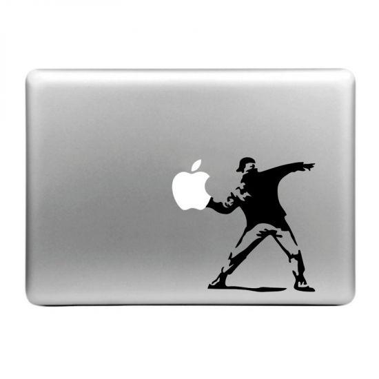 Mobigear Design - Autocollant pour MacBook Air / Pro (2008-2015) - Throw Apple