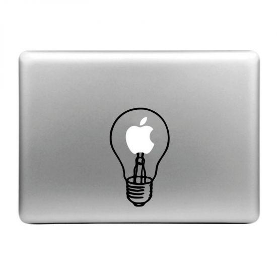 Mobigear Design - Autocollant pour MacBook Air / Pro (2008-2015) - light bulb
