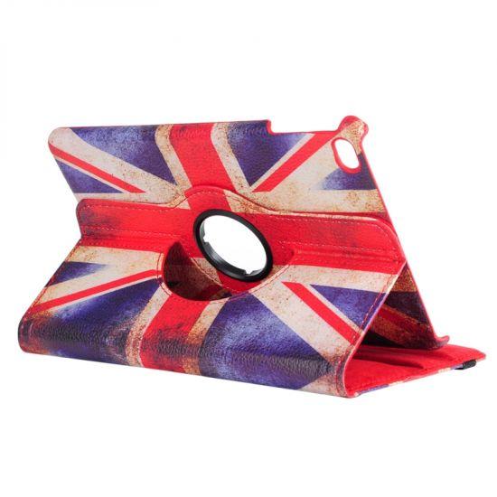 Mobigear 360 Rotating - Etui pour iPad Mini 4 (2015) - Flag Vintage UK