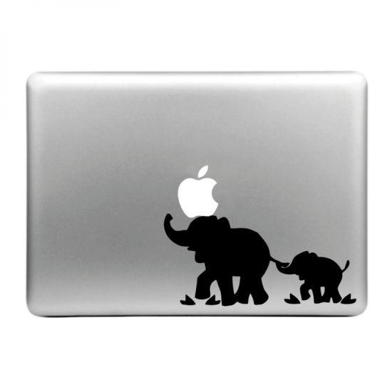 Mobigear Design - Autocollant pour MacBook Air / Pro (2008-2015) - l'éléphant
