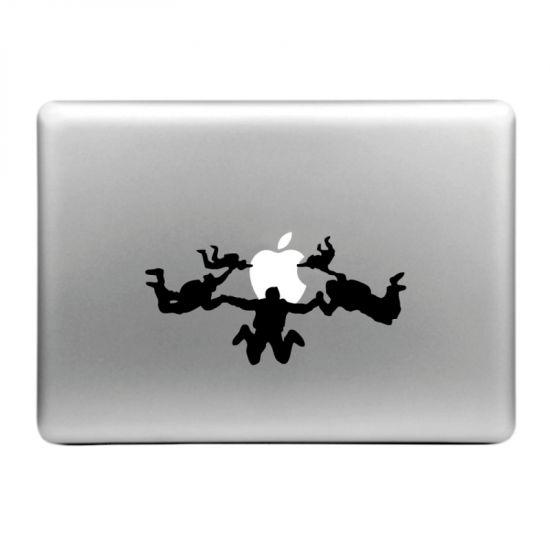 Mobigear Design - Autocollant pour MacBook Air / Pro (2008-2015) - flying Trapeze