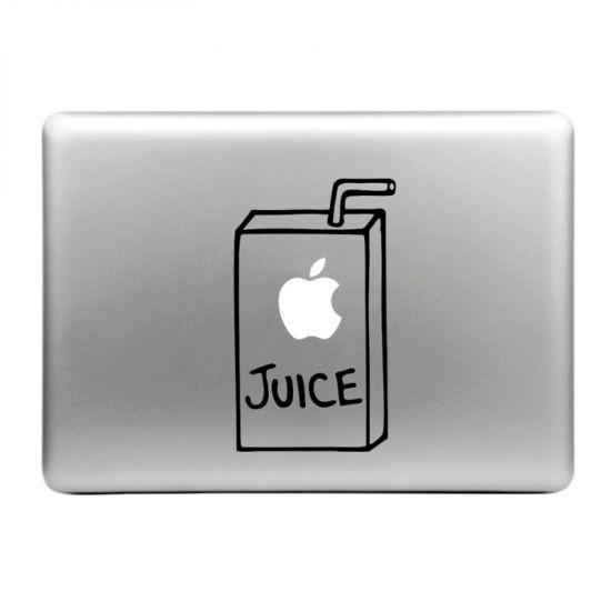 Mobigear Design - Autocollant pour MacBook Air / Pro (2008-2015) - Jus de pomme
