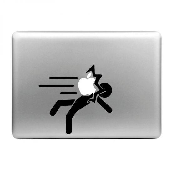 Mobigear Design - Autocollant pour MacBook Air / Pro (2008-2015) - Apple Hits Person