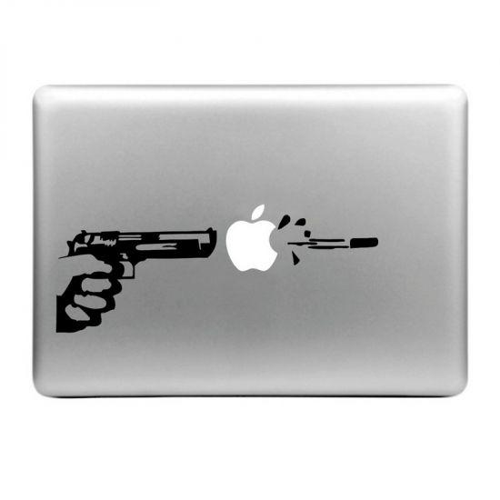 Mobigear Design - Autocollant pour MacBook Air / Pro (2008-2015) - Apple Shooter
