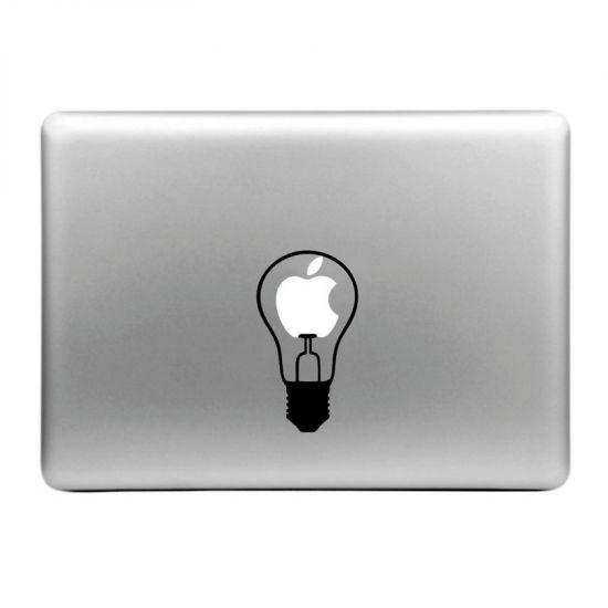 Mobigear Design - Autocollant pour MacBook Air / Pro (2008-2015) - little Bulb