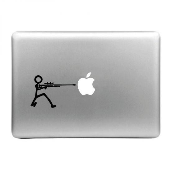 Mobigear Design - Autocollant pour MacBook Air / Pro (2008-2015) - Mitraillette