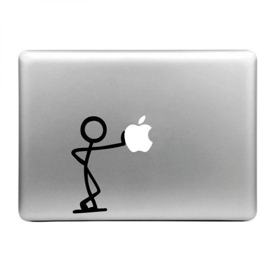 Mobigear Design - Autocollant pour MacBook Air / Pro (2008-2015) - Lean On Apple