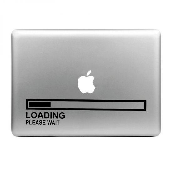 Mobigear Design - Autocollant pour MacBook Air / Pro (2008-2015) - Loading