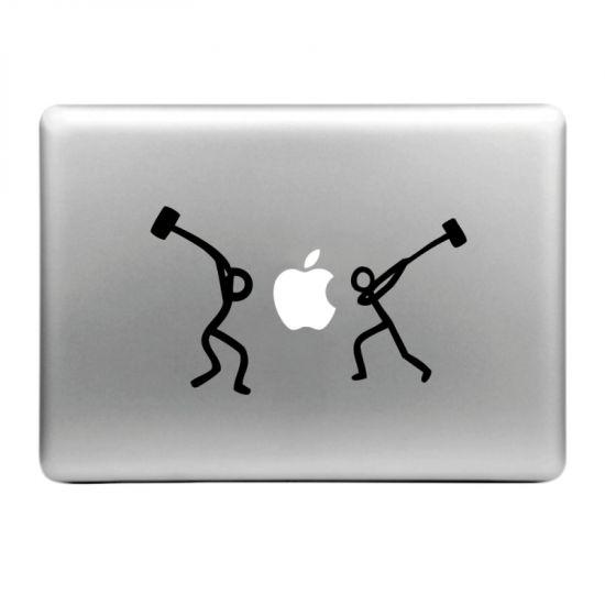Mobigear Design - Autocollant pour MacBook Air / Pro (2008-2015) - Marteau