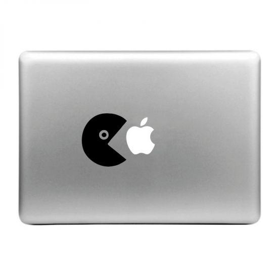 Mobigear Design - Autocollant pour MacBook Air / Pro (2008-2015) - Eat Apple