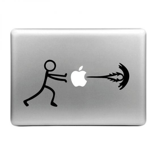 Mobigear Design - Autocollant pour MacBook Air / Pro (2008-2015) - Energy Boost