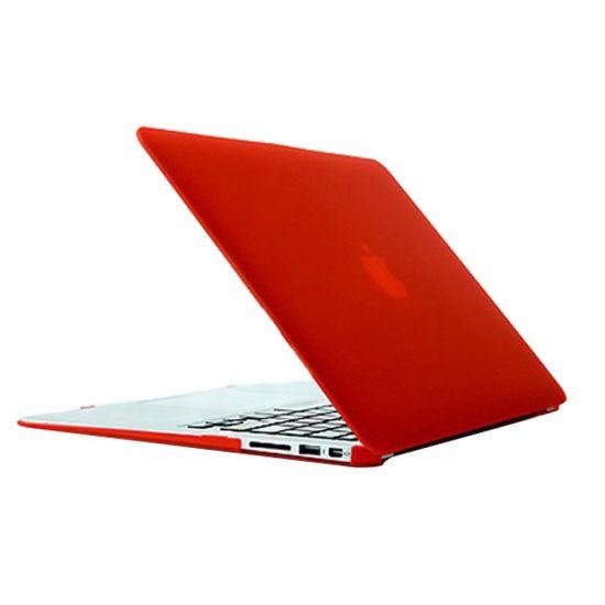 Mobigear Matte - Housse en Plastique rigide pour MacBook Air 13 pouces A1369 / A1466 - Rouge