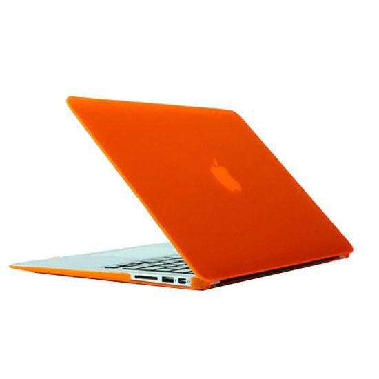 Mobigear Matte - Housse en Plastique rigide pour MacBook Air 13 pouces A1369 / A1466 - Orange