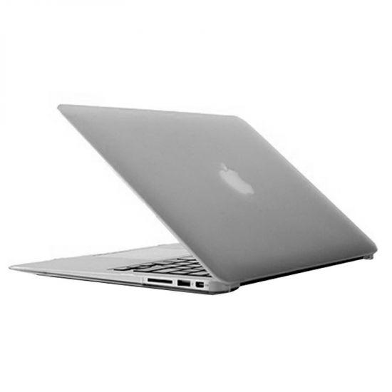 Mobigear Matte - Housse en Plastique rigide pour MacBook Air 13 pouces A1369 / A1466 - Transparent