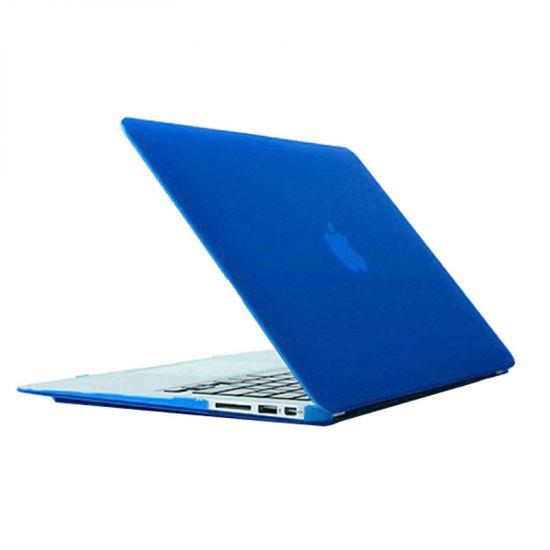 Mobigear Matte - Housse en Plastique rigide pour MacBook Air 11 pouces A1370 / A1465 - Bleu