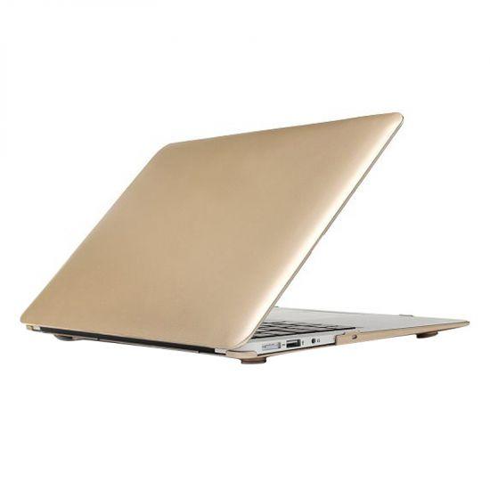 Mobigear Metallic - Housse en Plastique rigide pour MacBook Air 11 pouces - Or