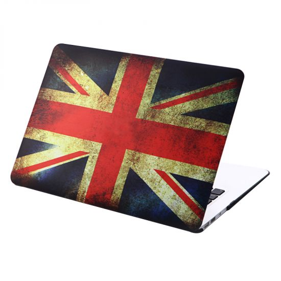 Mobigear Design - Housse en Plastique rigide pour MacBook Air 11 pouces - Flag Vintage UK