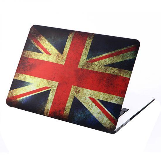 Mobigear Design - Housse en Plastique rigide pour MacBook Air 13 pouces - Flag Vintage UK