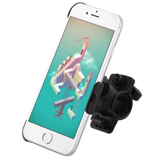 Mobigear Basic - Support Vélo pour iPhone 6(s) - Noir