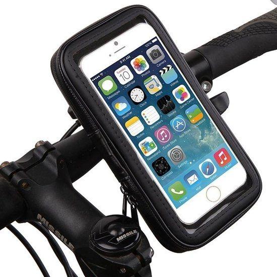 Mobigear Bike Console - Support Vélo pour iPhone SE (2020) / 8 / 7 / 6(s) - Noir