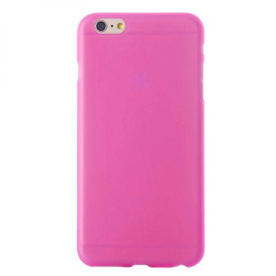 Mobigear Color - Coque arrière en TPU pour iPhone 6(s) - Magenta