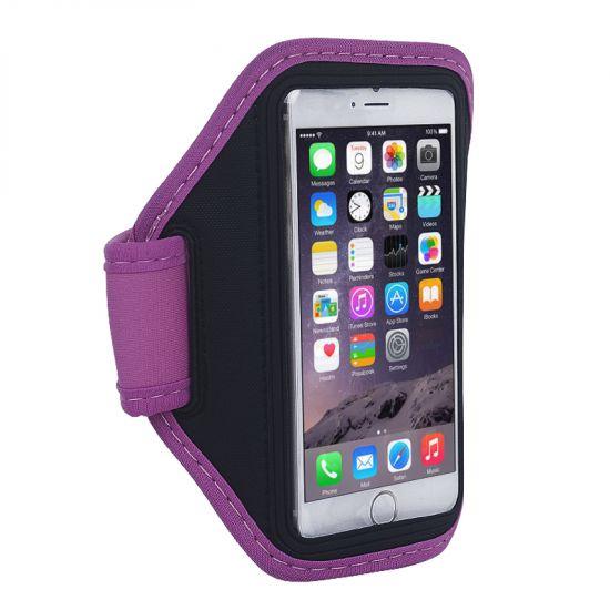 Mobigear - Brassard en Neoprène pour iPhone 6(s) - Magenta