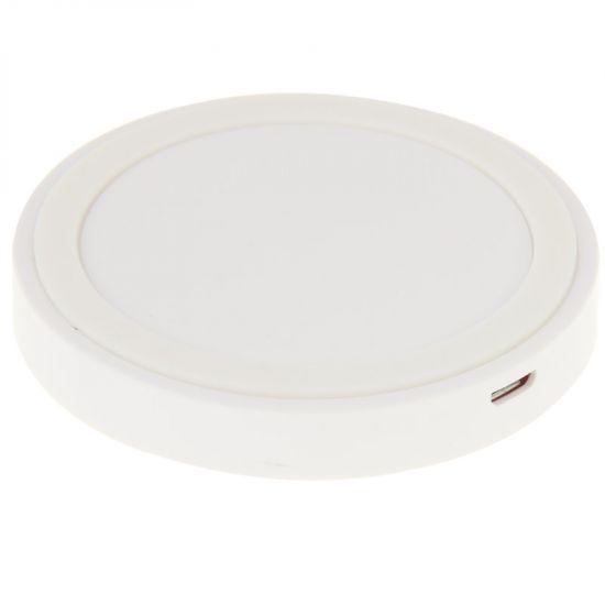 Mobigear Mini - Chargeur sans fil Qi 5W - Blanc