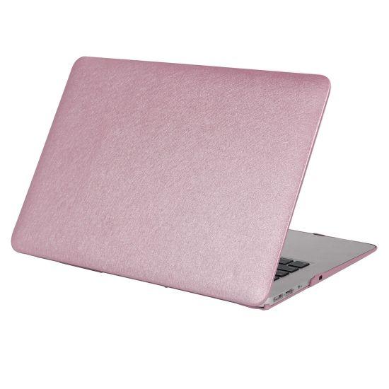 Mobigear Silk Texture - Housse en Plastique rigide pour MacBook Pro 13 pouces - Lilas