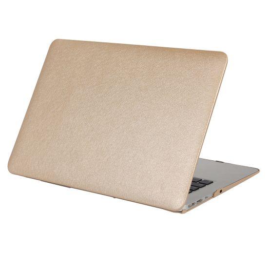 Mobigear Silk Texture - Housse en Plastique rigide pour MacBook Pro 15 pouces A1286 - Or