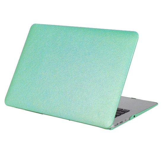 Mobigear Silk Texture - Housse en Plastique rigide pour MacBook Pro 15 pouces A1398 - Vert