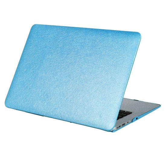Mobigear Silk Texture - Housse en Plastique rigide pour MacBook 12 pouces A1534 - Bleu