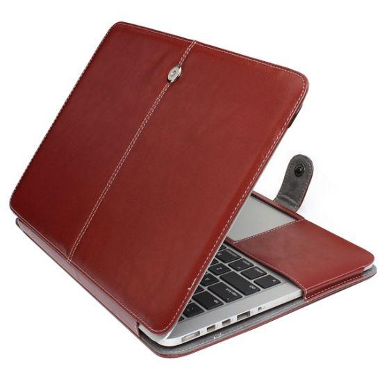 Mobigear Business - Housse pour MacBook Pro 13 pouces A1425 / A1502 - Marron