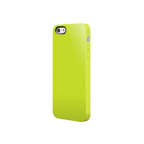 SwitchEasy Nude - Coque arrière en Plastique rigide pour iPhone SE (2016) / 5S / 5 - Lime