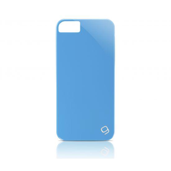Gear4 Pop Glossy - Coque arrière en Plastique rigide pour iPhone SE (2016) / 5S / 5 - Bleu