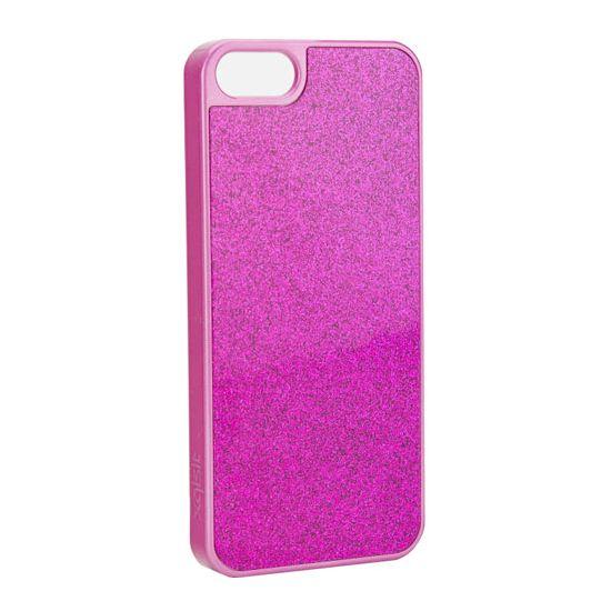 Xqisit iPlate - Coque arrière en Plastique rigide pour iPhone SE (2016) / 5S / 5 - Rose