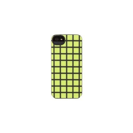 Griffin MeshUps - Coque arrière en Plastique rigide pour iPhone SE (2016) / 5S / 5 - Vert