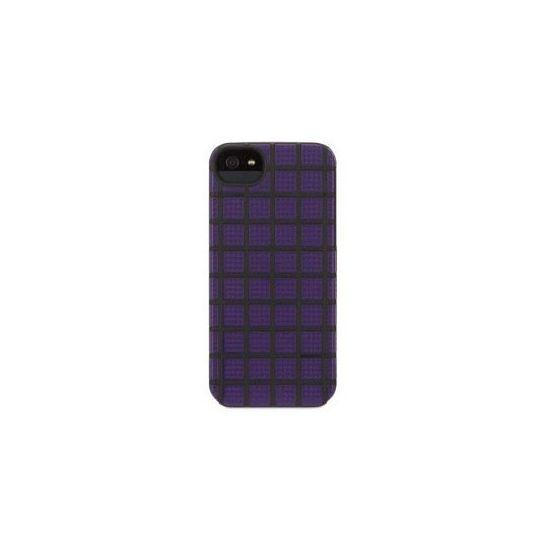 Griffin MeshUps - Coque arrière en Plastique rigide pour iPhone SE (2016) / 5S / 5 - Lilas