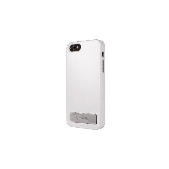 XtremeMac Microshield - Coque arrière en Plastique rigide pour iPhone SE (2016) / 5S / 5 - Blanc