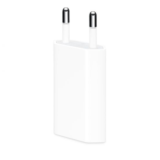 iPhone / iPod - Simple USB Chargeur 5W 1A - Blanc