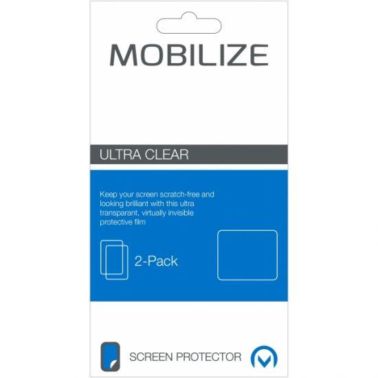 Mobilize - Film plastique Protection d'écran pour iPhone SE (2016) / 5S / 5 - 2-Pack