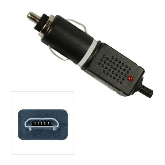 Xccess - Chargeur voiture Micro USB 1 mètre 1A - Noir