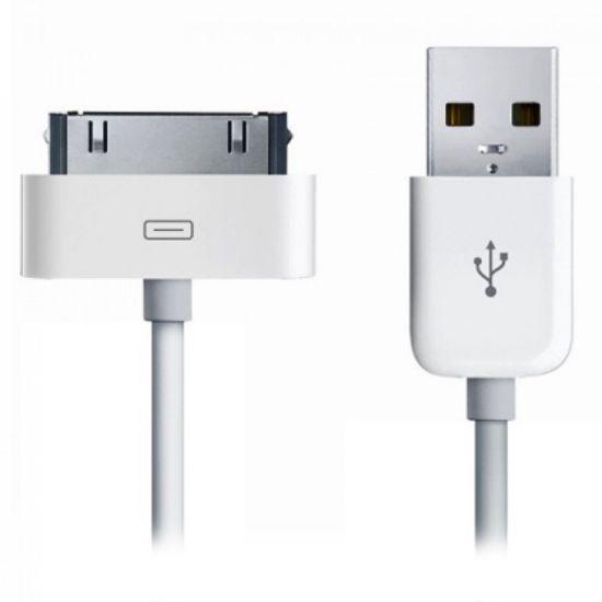 Xccess - Câble USB-A vers Apple 30-broches 1 mètre - Blanc